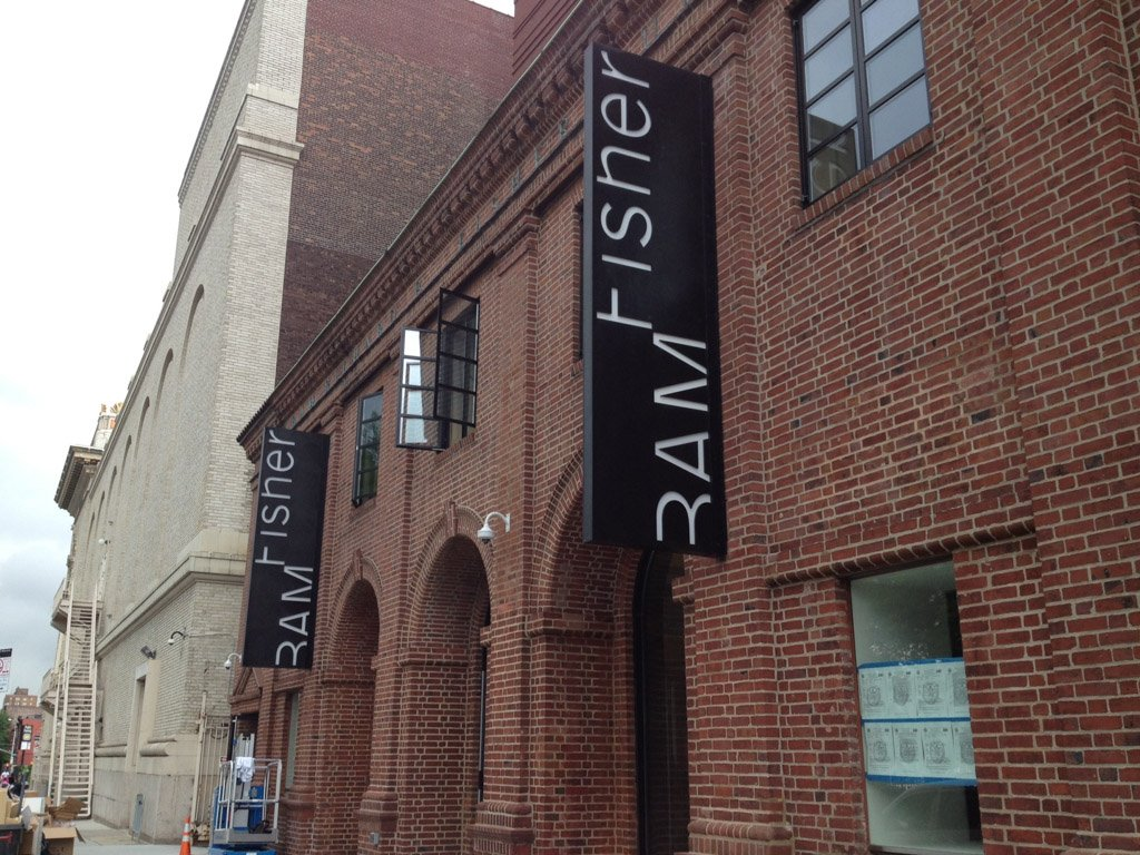 Brooklyn Academy of Music - Fisher Building - Richlite Exterior Signage