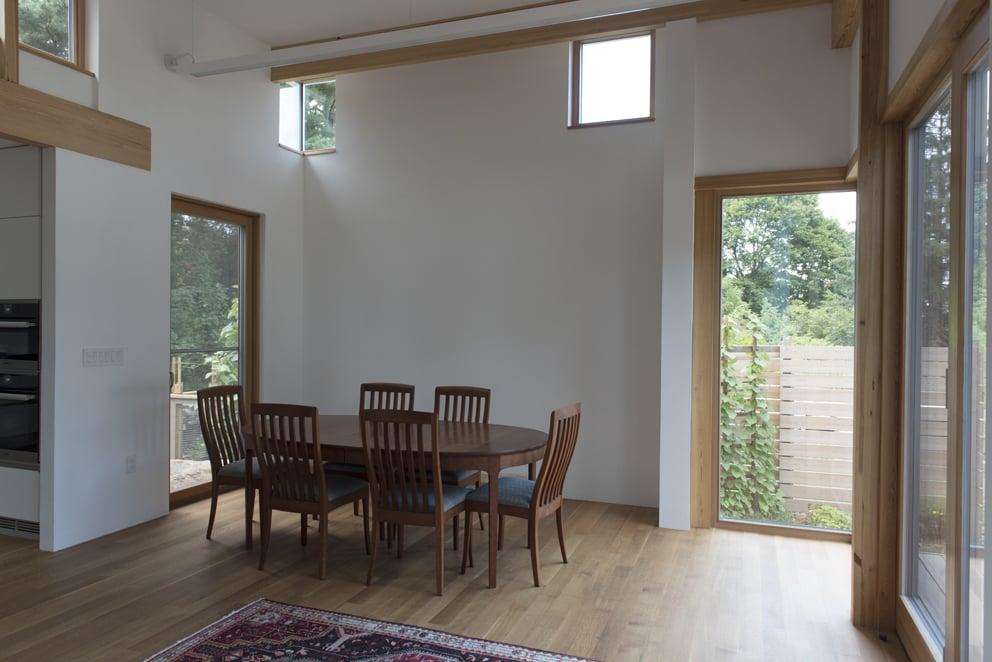 Prospect Street - Bildau & Bussmann Windows and Doors - Dining Room