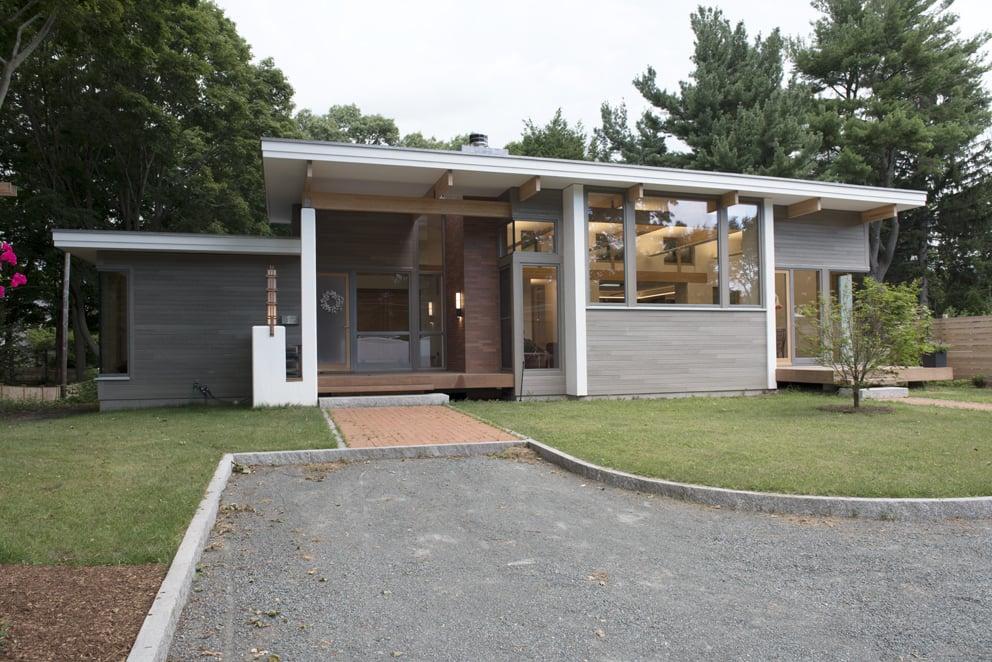 Prospect Street - Bildau & Bussmann Windows and Doors - Front of House