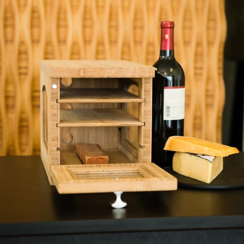 Cheese Grotto - Custom Plyboo Fabrication