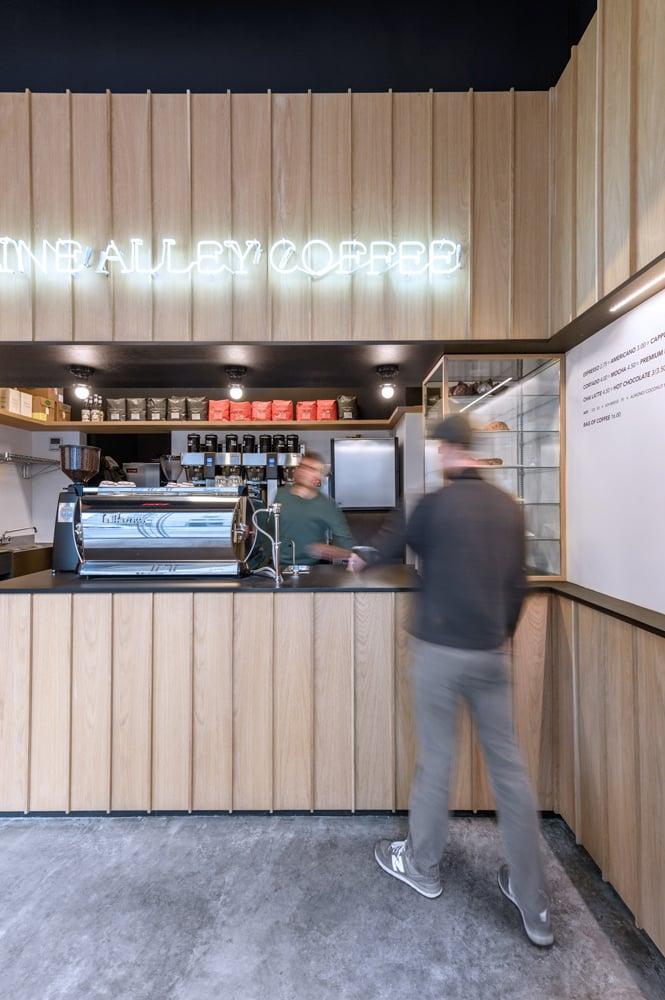 Gasoline Alley Coffee Shop - Richlite