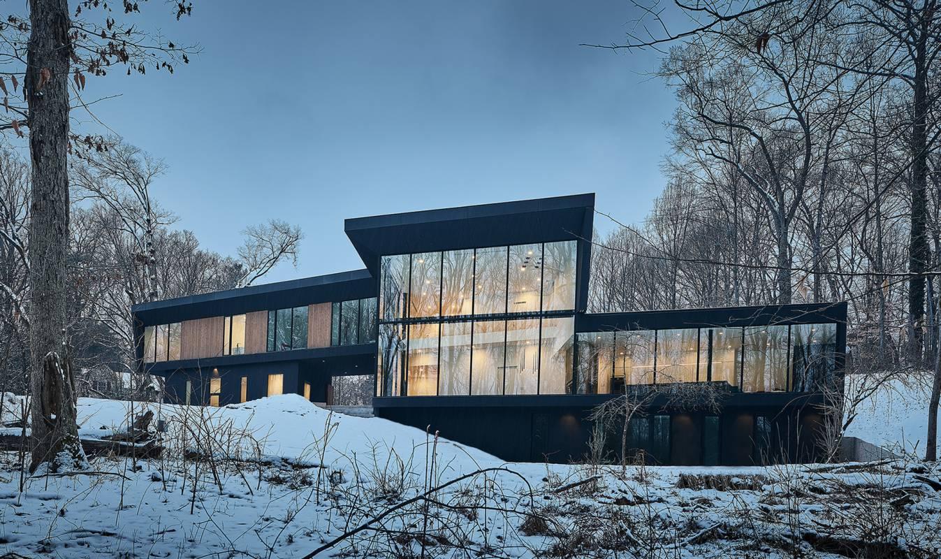 Oblique House