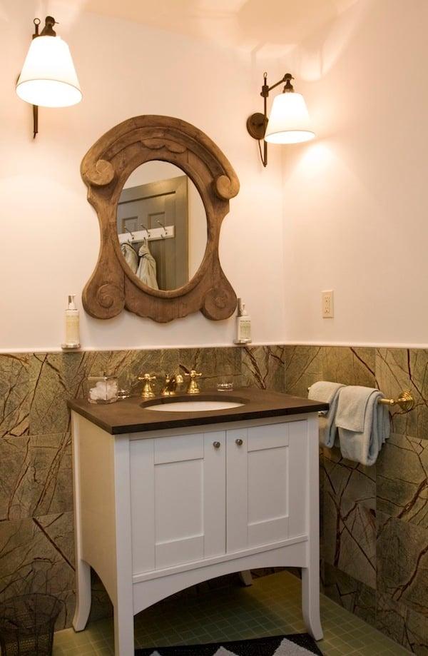 Richlite Vanity Top for the Maidstone Inn