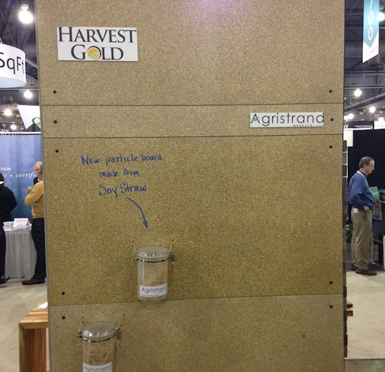 Agristrand at the 2013 Greenbuild Expo