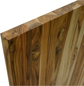 Teak butcher block now available at EcoSupply