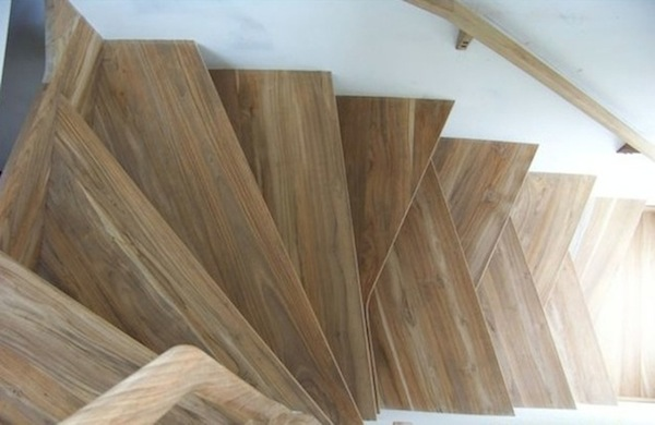 Proteak Lumber Residential Staggered Stairs
