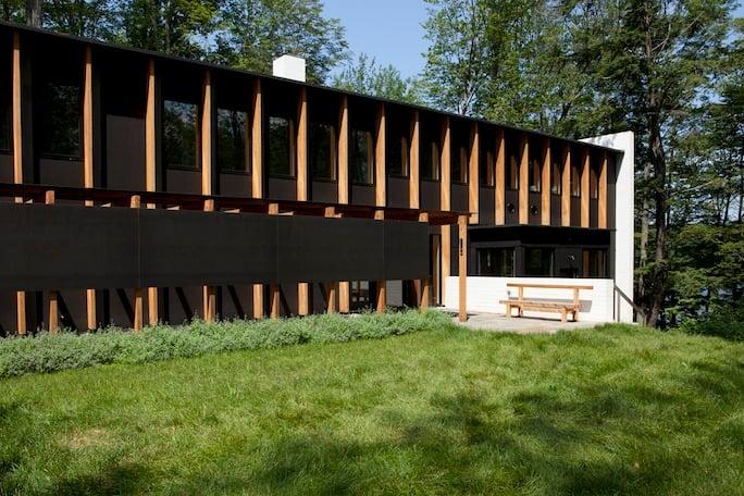 Yingst Residence with Richlite RainShadow by David Salmela Architects