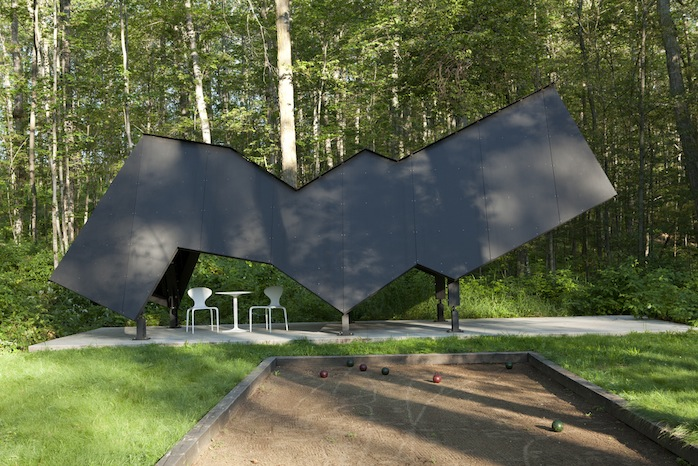 Richlite RainShadow Pavillion designed by David Salmela