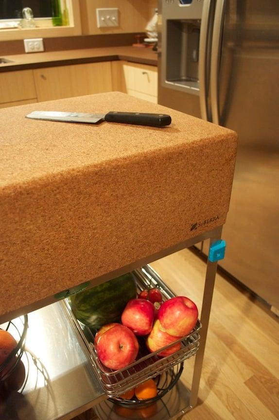 Suberra Cork Kitchen Cart