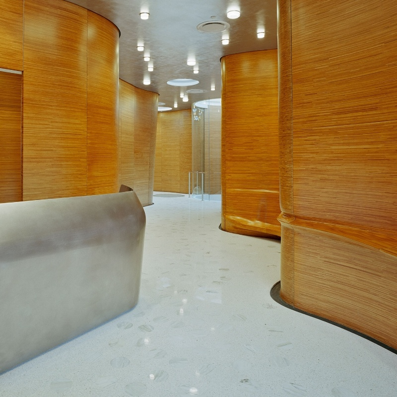 One Jackson Square NYC - Plyboo Custom Millwork