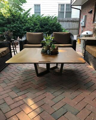 Richlite Patio Table